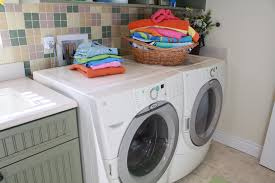 lint alert photo of newer laundry appliances being monitored by a lintalert