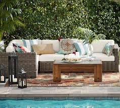 Build Your Own Patio Table Build Your Own Huntington All Weather Wicker Square Arm