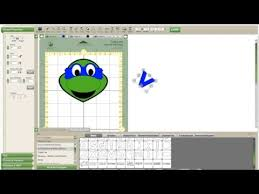 Cricut Craft Room Software - ninja turtle cricut tutorial no cartridge needed youtube