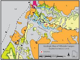 map of southern utah geologic map of the field area in hillsdale in southern