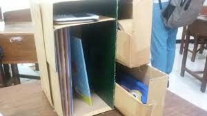 cara membuat lemari buku dari kardus bekas x iis 3 kelompok 3 cara membuat rak mini sederhana