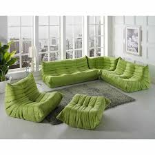 Green Leather Sofa by Modway Waverunner Modern Lounge Sofa Set Multiple Colors