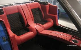Muscle Car Upholstery Gr Mustang Blog06 Back Seats Are In The 1966 Ford Mustang