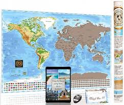 World Map Country Flags Best Rated In Social Studies Accessories U0026 Helpful Customer