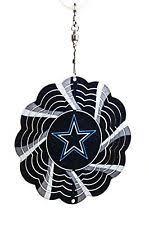 set of 2 nfl dallas cowboys geo spinner ornaments ebay