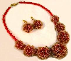 beaded seed bead necklace images Projects single strand necklace with seed beads fire mountain jpg