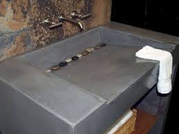 bathroom unique concrete bathroom vanity countertop design
