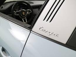 dealer inventory new 2017 porsche 911 targa 4s exterior paint to