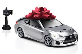 lexus rc f sport coupe bring out your inner child with this miniature remote controlled