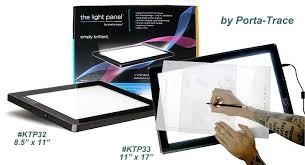 porta trace light box ktp32 the light panel by porta trace