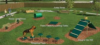 backyard obstacle course for dogs backyard