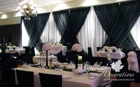 wedding backdrop canada toronto wedding decorations custom backdrop and table draping