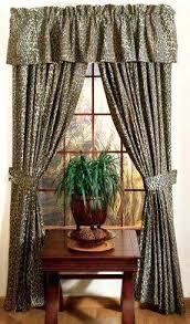 animal print valance safari living room curtains leopard safari