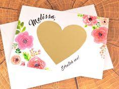 Ask Bridesmaids Cards Bridesmaid Gift Bridesmaid Card Scratch Off Floral By Xoxokristen