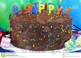 chocolate cake u0026 happy birthday candles stock photo image 24318730