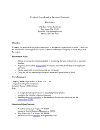Project Coordinator Resume Sample 100 Care Coordinator Resume 49 Best Management Resume Templates