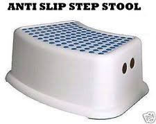 Childrens Plastic Bathroom Step Stools EBay - Bathroom step