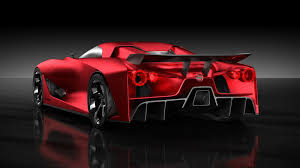 red nissan sports car nissan concept 2020 vision gran turismo looks better in red