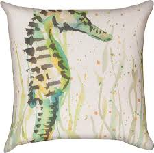 Seashore Decorative Pillows Tropical Accent Throw Pillows Oceanstyles Com