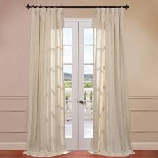 interior cute linen draperies and linen drapes with curtains rod