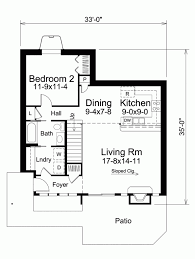 adorable small two bedroom contemporary house with floor plan
