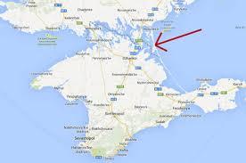google russia pressured into changing ukraine border on map