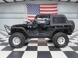 jeep wrangler 2 door hardtop lifted ebay 2007 jeep wrangler black 2 door automatic warranty financing
