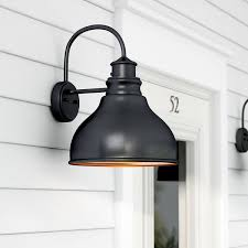 Ceramic Outdoor Wall Sconces Black Outdoor Wall Lighting You U0027ll Love Wayfair