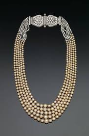 natural necklace pearl images Dunn pearl necklace smithsonian institution