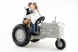 tractor cake topper wedding collectibles tractor western wedding cake