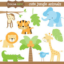 baby jungle animal clip art free bing images baby jungle