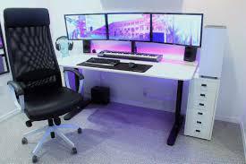 Pc Desk Setup Desk Setups Desksetups