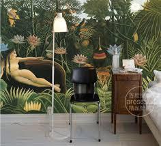 online get cheap tropical mural aliexpress com alibaba group free shipping custom european style tropical rain forest wallpaper mural 3d stereo wallpaper bar cafe hotel