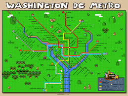 Metro Rail Dc Map by Let This Super Mario Metro Map Level Up Your Public Transport