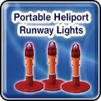 Solar Powered Runway Lights by Heliport Lights Helipad Lighting Systems Heliport Beacons