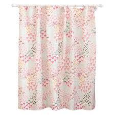 floral shower curtain pillowfort floral shower curtains