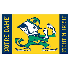 University Flags Amazon Com Ncaa Notre Dame Fighting Irish 3 By 5 Foot Flag With