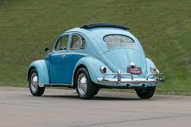navy blue volkswagen beetle 1957 volkswagen beetle fast lane classic cars