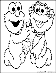 sesame street color pages elmo coloring book for page colouring