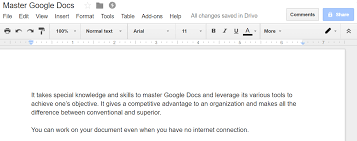 Google Docs Table The Ultimate Guide To Google Docs Hiver Blog