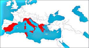 Roman World Map by History Woodsman2b U0027s Roman Maps Favourites By Syltorian On