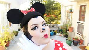 minnie mouse halloween costume u0026 makeup tutorial youtube