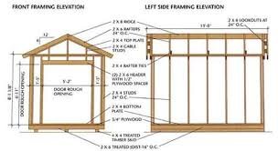 Diy Build A Shed Free Plans by Garden Shed Plans