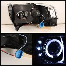 2001 dodge dakota headlight assembly 94 01 dodge ram 1500 chrome ccfl halo led projector headlights