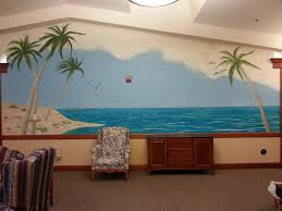 tropical beach wall mural from melissa barrett paint design wall by melissa barrett paint design wall murals