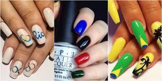 nail art summer nail designs for best polish art ideas paint