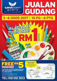 stationery warehouse sale from rm1
