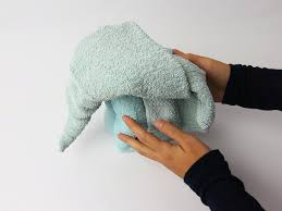 how to fold a towel elephant 15 steps with pictures wikihow