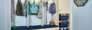 custom mudroom storage units tailored living