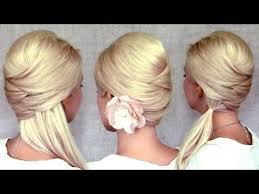 hairstyles i can do myself criss cross hairstyles half up half down ponytail and updo for